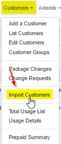 Import-Customers