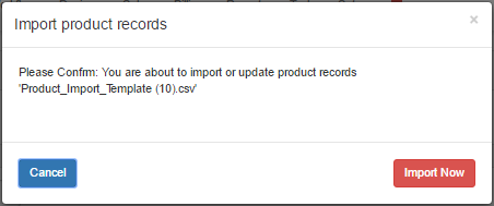 Import-product-records