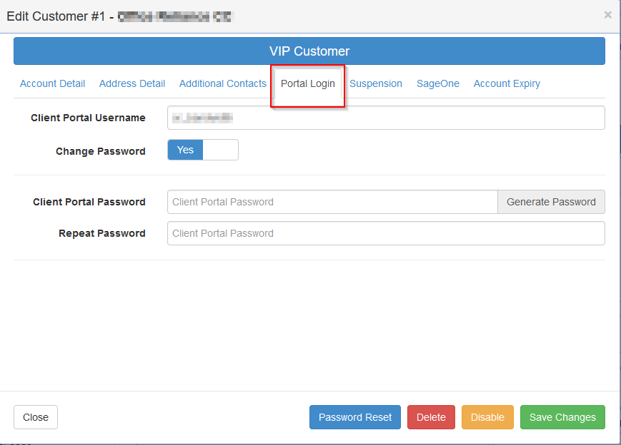 customer-edit-portal-login
