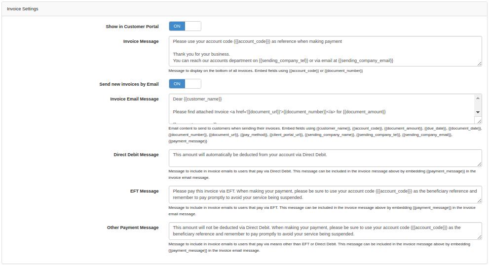 inv-settings