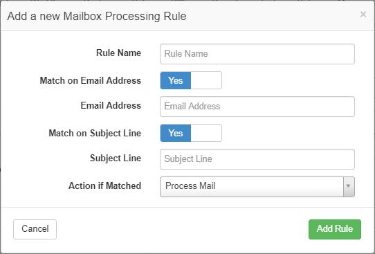 mailscrape-rule