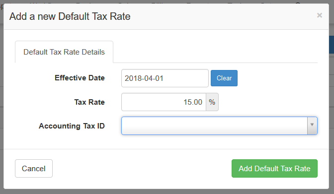 15% VAT change in Sage One (SA) and DataTill - DataTill