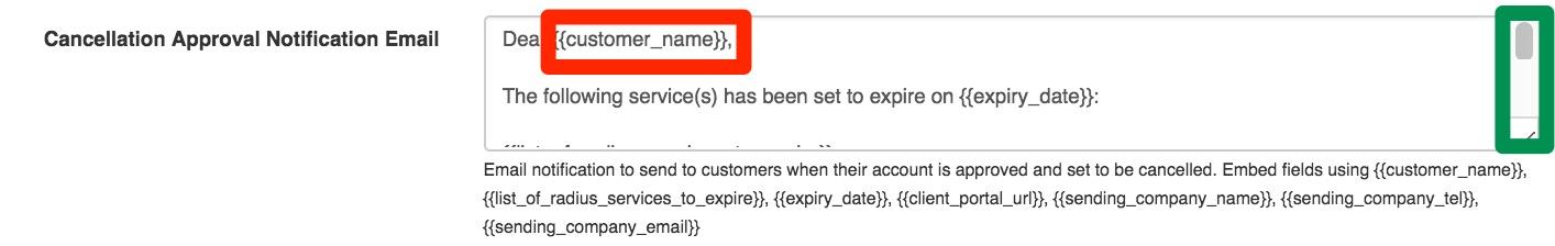 Customer Cancellations - DataTill
