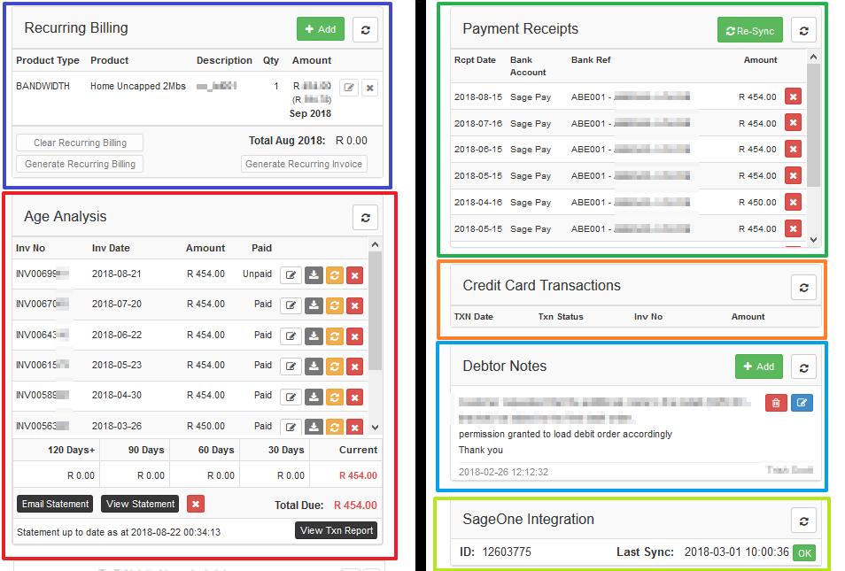 Customer Profile: Summary - DataTill | ISP Management System
