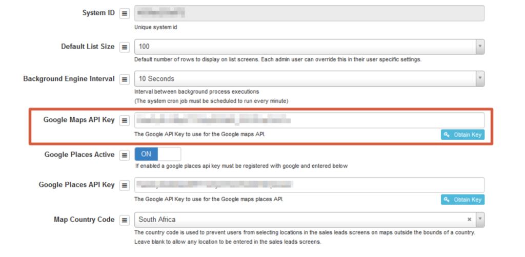 google analytics key, google docs key, google authenticator key, bing maps api key, on google maps api key