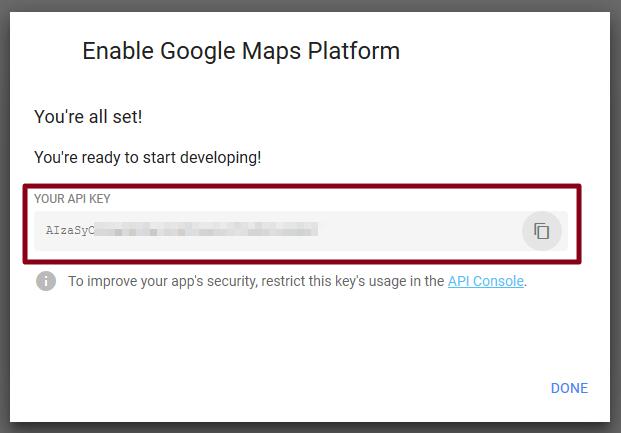 How To Get Your Google Maps API Key - DataTill